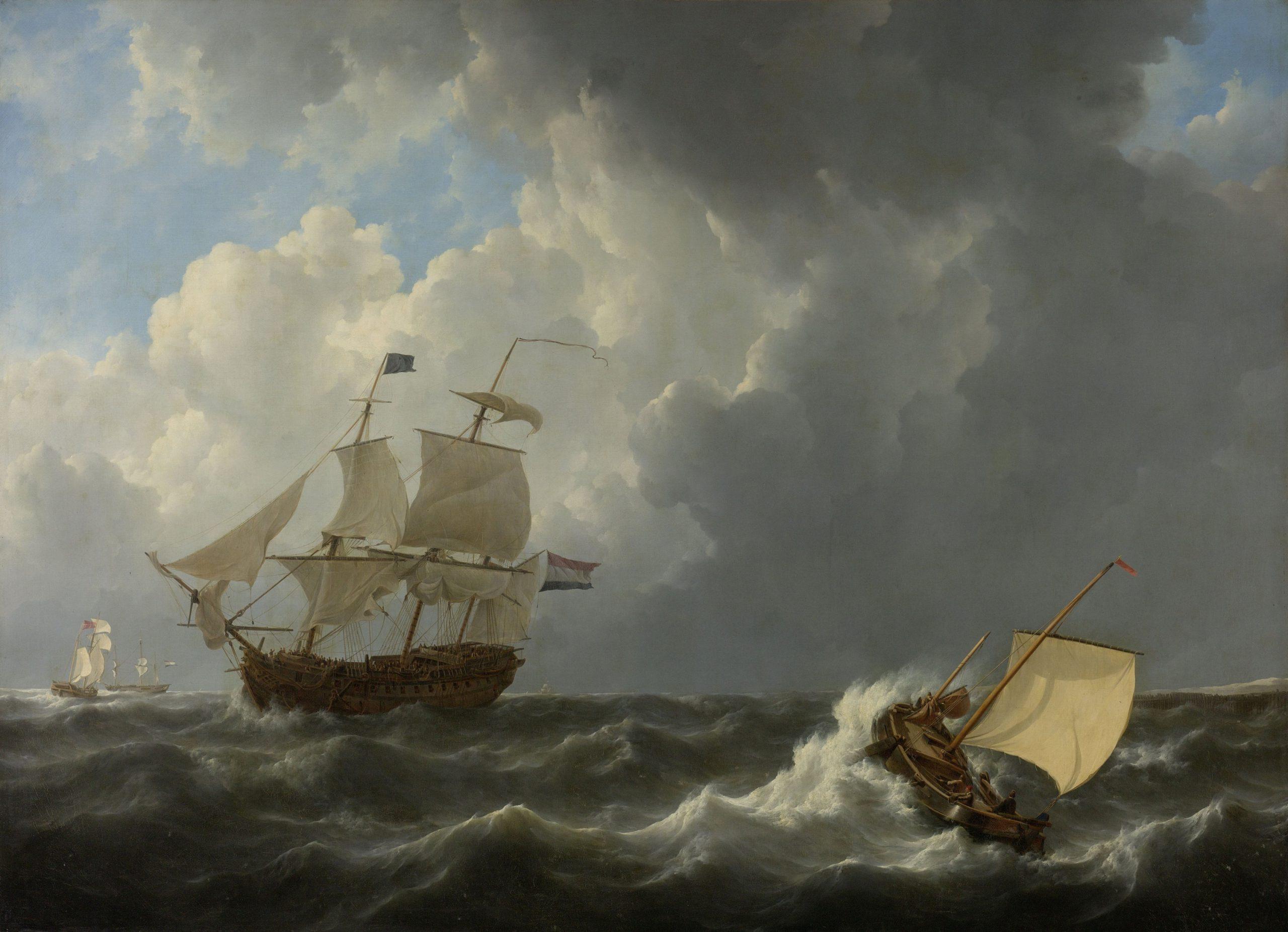 Sailing choppy waters